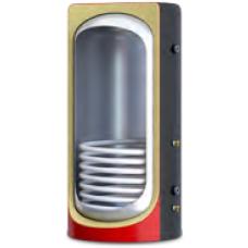 Теплоакумулятор з ізоляцією, нижнім вмонтованим нержавіючим теплообмінником