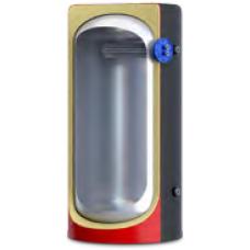 Теплоакумулятор з ізоляцією, верхнім  трубчатим теплообмінником