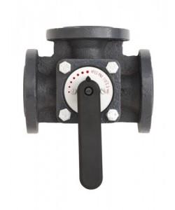 Поворотний регулювальний клапан HFE3