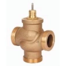 Сідельний регулювальний трьохходовий клапан VRB3