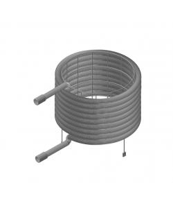 Теплообмінник нержавіючий спіральний