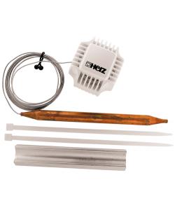 Термостатична головка з накладним датчиком