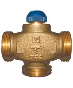 Триходовий термостатичний клапан CALIS-TS-RD
